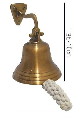 Brass Door Bell Wall Hanging Mount Nautical Brass Ship Calling Bell X-mas Gifts