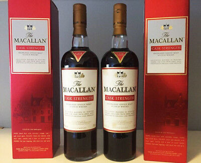 Macallan Cask Strength - Very Hard To Find, Collectors Dream Bottle