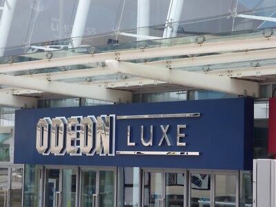 Luxe Odeon Cinema E ticket , ANY 2D film standard or luxe screens.