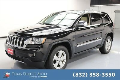 2012 Jeep Grand Cherokee Limited Texas Direct Auto 2012 Limited Used 3.6L V6 24V Automatic RWD SUV