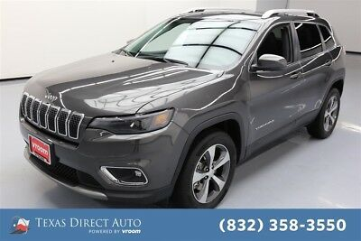 2019 Jeep Cherokee Limited Texas Direct Auto 2019 Limited Used Turbo 2L I4 16V Automatic 4WD SUV Premium