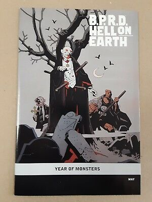 Hellboy B.p.r.d. Hell On Earth Year Of Monsters Variant May Nm- Mike Mignola