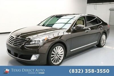 2016 Hyundai Equus Ultimate Texas Direct Auto 2016 Ultimate Used 5L V8 32V Automatic RWD Sedan Premium