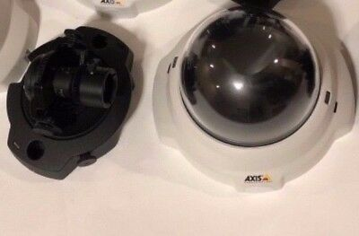 Axis fixed dome network IP PoE security camera M3204 works great, sharp video