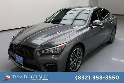 2015 Infiniti Q50 Sport Texas Direct Auto 2015 Sport Used 3.7L V6 24V Automatic AWD Sedan Bose Premium