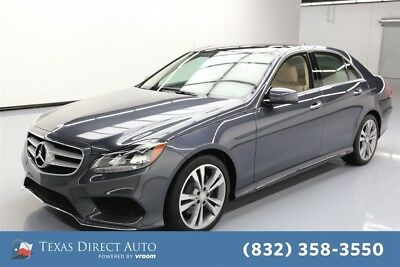 2016 Mercedes-Benz E-Class E 350 Texas Direct Auto 2016 E 350 Used 3.5L V6 24V Automatic RWD Sedan Premium