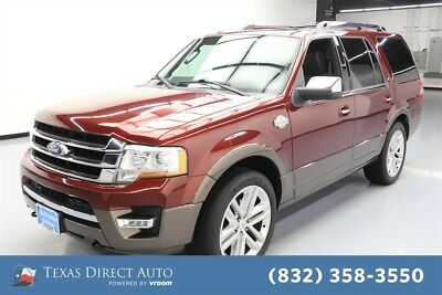 2015 Ford Expedition 4x4 King Ranch 4dr SUV Texas Direct Auto 2015 4x4 King Ranch 4dr SUV Used Turbo 3.5L V6 24V Automatic