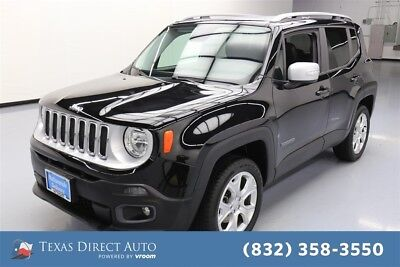 2016 Jeep Renegade Limited Texas Direct Auto 2016 Limited Used 2.4L I4 16V Automatic 4WD SUV Premium