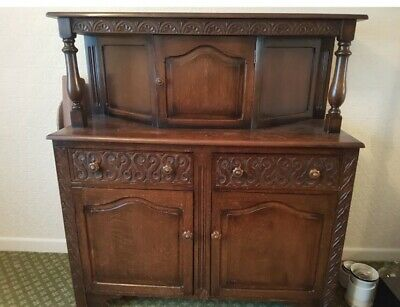 Antique Dresser Sideboard Court Cupboard