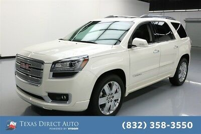2015 GMC Acadia Denali Texas Direct Auto 2015 Denali Used 3.6L V6 24V Automatic FWD SUV Moonroof Bose