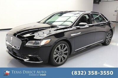2017 Lincoln Continental Reserve Texas Direct Auto 2017 Reserve Used Turbo 2.7L V6 24V Automatic FWD Sedan