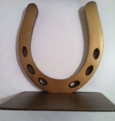 Pottery Barn Horseshoe Bookends~Set Of 2~New In Box