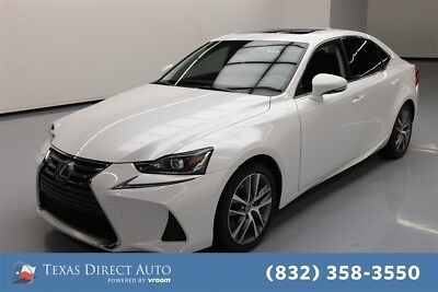 2018 Lexus IS  Texas Direct Auto 2018 Used Turbo 2L I4 16V Automatic RWD Sedan Moonroof Premium