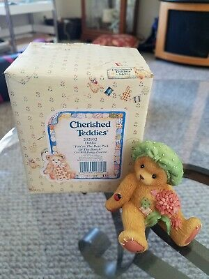 Cherished Teddies Dahlia -You're The Best Pick Of The Bunch - Heavenly Paws MI