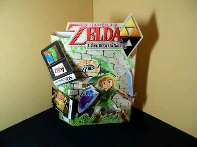 Legend of Zelda A Link Between Worlds - Countertop Standee - Store Promo RARE