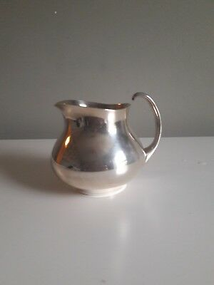Silver Plated Deco Style Milk Jug  By Mappin & Webb Eric Clements