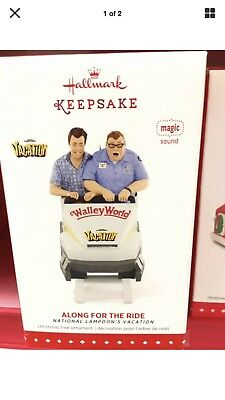 Hallmark 2015 National Lampoons Vacation Along for Ride Ornament summer Walley