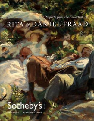 Sotheby's Important American Paintings Rita & Daniel Fraad Collection