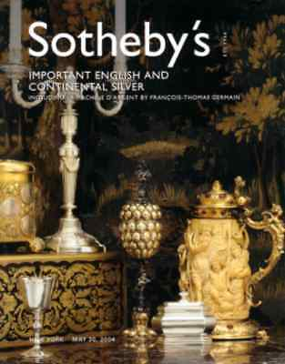 Sotheby's Important English And Continental Silver +