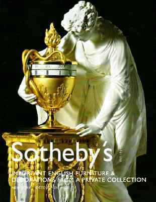 Sotheby's Important English Furniture And Decorations From A Private Collection