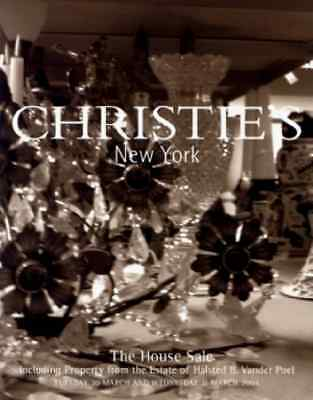 Christie's New York The House Sale Including Halsted B. Vander Poel Collection
