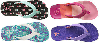 c14c9a100a751 NEW! REEF GIRLS  Little REEF ESCAPE Prints Sandals flip flops kids ...