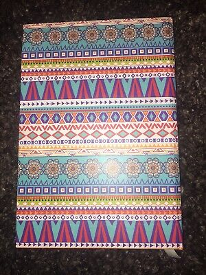 Note Book A5 Patterened Lined Paper