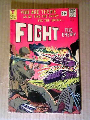 Fight the Enemy #2 (Oct 1966, Tower) 1st Boris Vallejo Comic Art