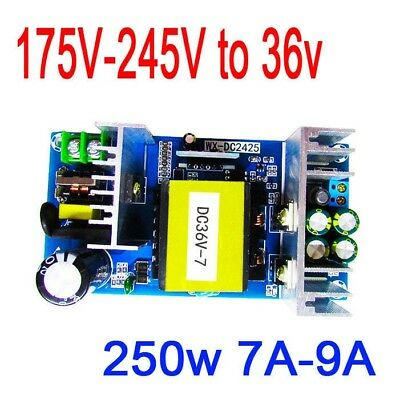 AC-DC Converter 220V 240V to 36V 7A 250W Switching Power board Motor amplifier