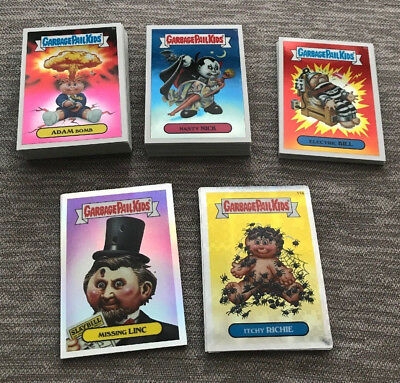 Lot 74 Garbage Pail Kids Cards 2013 Topps Chrome Base & Refractors Xfractors +++
