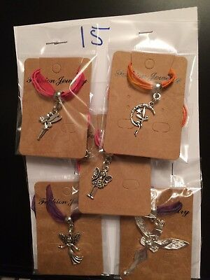 Joblot Of 5 Fairy Necklaces