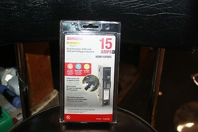 Square D Homeline Hom115Pdfc Dual Function Cafi/gfci Breaker 15A New In Package