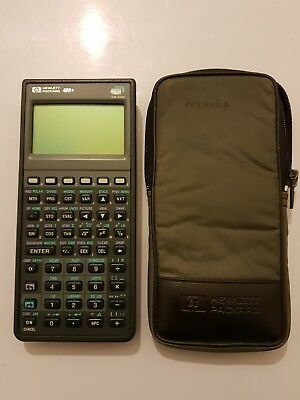 Hewlett Packard Hp 48G+ calculadora grafica con funda de REGALO