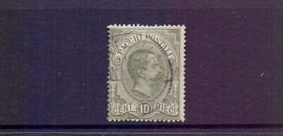 ITALY 1886 10c PARCEL POST FINE USED
