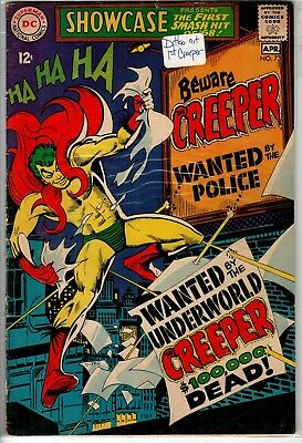 Showcase 73 1st appearance of The Creeper by Ditko