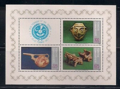 Turkey 1977 Sc #2055a S/s MNH (40867)