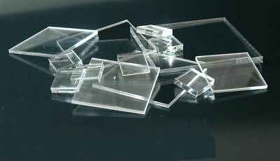 Laser Cut Acrylic Squares 3mm Thick