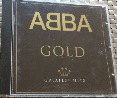 (CD) ABBA ~ GOLD GREATEST HITS - Polydor 517 007-2  ~ VG+