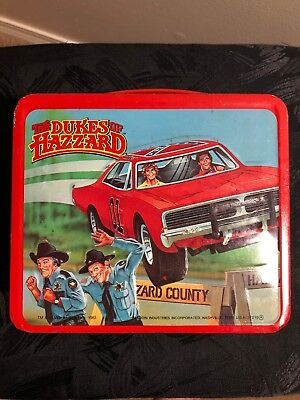 The Dukes of Hazzard Vintage 1983 Metal Lunch Box And Thermos By  Aladdin