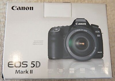 Canon EOS 5D Mark II 21.1MP Digital Camera Body DSLR with original box & access