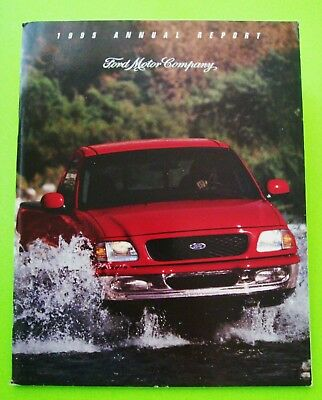1995 FORD MOTOR COMPANY ANNUAL REPORT Illustrated SYNERGY 2010 CONCEPT CAR 64-pg