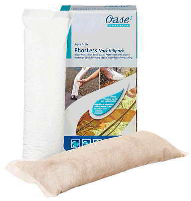 Oase Phosless Algae Protection Refill Pack Phosphate Binder Fights in the Pond