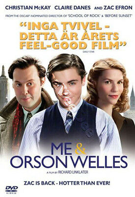 Me and Orson Welles NEW PAL Arthouse DVD Zac Efron