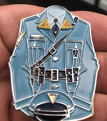 "Nj State Police Uniform  2"" Challenge Coin"