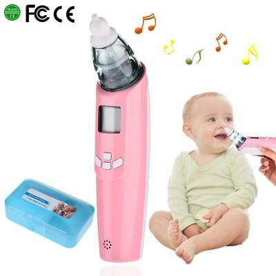 Baby Electric  Nasal Aspirator Nose Snot Cleaner Suction LCD For Newborn Infant