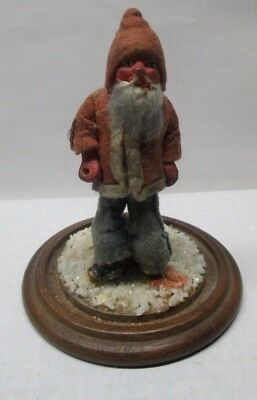 "Early Vintage Composition Santa Claus Figure 4 1/2"" Tall  No Reserve"
