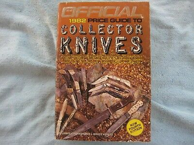 1982 Price Guide To Collector Knives Book. 4Th Edition. 631 Pages