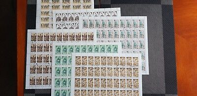 Poland Stamps Sheets 1986 CV 400