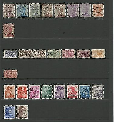 Italy Used collection sold as per scans Have a look Value Here  5 Scans