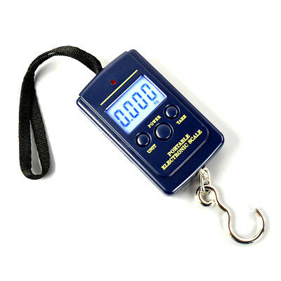 40KG Digital Luggage Fishing Weighing Scale Portable Suitcase Scales LCD Display